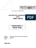 auto lab - solar ray report.docx