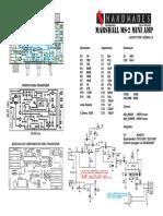 Marshall MS2 MiniAmp Guero