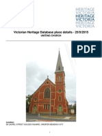 Golden Square Uniting Church heritage report