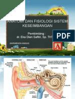 Anatomi Dan Fisiologi Sistem Keseimbangan