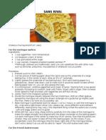 Advanced Baking Recipes