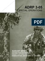 2008 Special Operations Unconventional Warfare