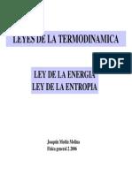 00000014 Fisica Leyes de La Termodinamica Ley de La Energia Ley de La Entropia