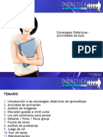Estrategias didácticas- actividades del aula