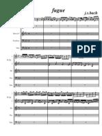 Bach - Fuge - Brass Quintet