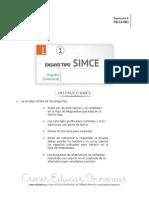 Ensayo1 Simce Lenguaje 6basico 2015 Forma b