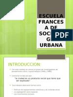 escuela francesa de sociologia urbana