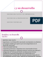 Sentidos Propioceptivo,Tactil, Vestibular
