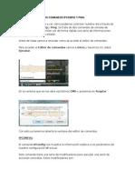 Uso y Utilidad de Los Comandos Ipconfig y Ping