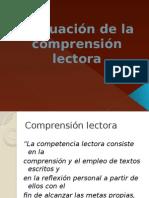 evaluacindelacomprensinlectora1-101110155224-phpapp01.pptx