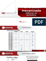 PERFORACIÓN MECANIZADA, Modulo03 Definicion de Parametros