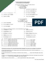 Atividade - Pronomes - 6º Ano 2