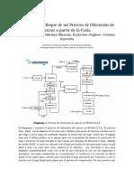 El Proceso de Obtención Del Azúcar en INCAUCA S