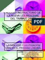 2) Modulo Ley Procesal Del Trabajo II Segunda Clase