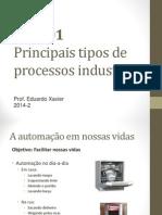 Aula 01-Principais Tipos de Processos Industriais