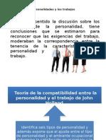 Ajuste Entre Las Personalidades y Los Trabajos