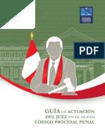 Guia de Actuacion Del Juez en El Nuevo Codigo Procesal Penal