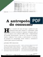 A Antropologia Do Consumo