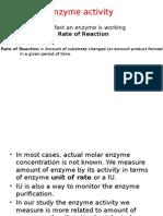 Aktivitas Enzym