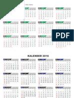 Kalender 2015-2016