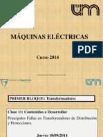 Fallas en máquinas electricas