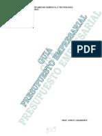 Jose Calderon Guia de Presupuesto Empresarial(Iugt)