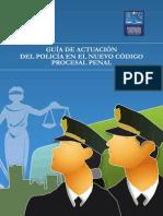 Guia de Actuacion Del Policia en El Nuevo Codigo Procesal Penal