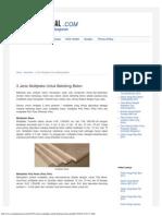 3 Jenis Multipleks Untuk Bekisting Beton _ Material Rumah