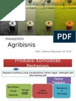 Manajemen Agribisnis 1-Produksi