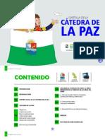 Cartilla Cátedra de La Paz Sucre