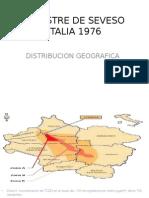 Desastre de Seveso Distribucion Geografica