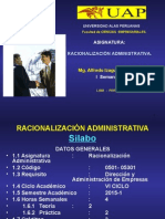 Rac.Adm. 1-A