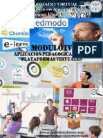 Modulo IV Aplicacion Pedagogicamente de La Plataforma Virtual 2015