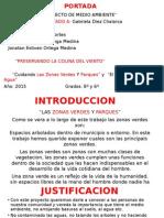 Proyecto de Medio Ambiente Maria Alejandra Serna Cortes 8a