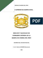 Rescate y Salvataje de Submarino Hundido en La Mgp