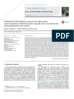 Comparison of Development Scenarios of a Black Watersource-separation Sanitation System Using Life Cycle Assessment Andenvironmental Life Cycle Costing