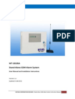 WT1010SA GSM Stand-Alone Alarm System