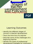 Stages Teacher Development..