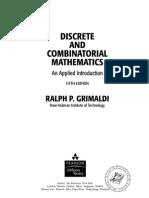 Discrete and Combinatorial Mathematics 5th Ed - R. Grimaldi