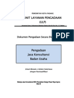 Dokumen Lelang Penawaran