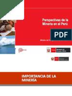 Perspectivas minería en el Perú