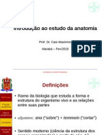 Caio Maximino - Introdução Ao Estudo Da Anatomia
