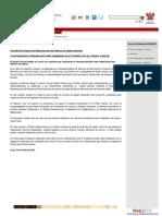 Interoperabilidad en Poder Judicial Peru