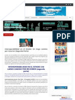 Problemas de Interoperabilidad en el Perú