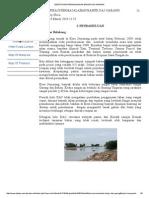 Identifikasi Permasalahan Banjir Das Garang