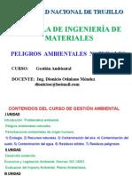 PELIGROS  AMBIENTALES  NATURALES-gestion ambiental