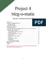 UCLA CS32 Project 4 Spec (Winter 2014)