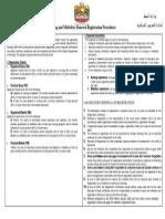 Nursing and Midwifery Renewal Registration Procedures