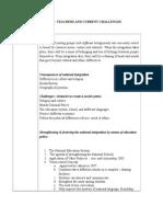 Teachers and Current Challenges Edu 3093 (3)