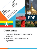 Dr. Aung_Assessing Reforms in Myanmar